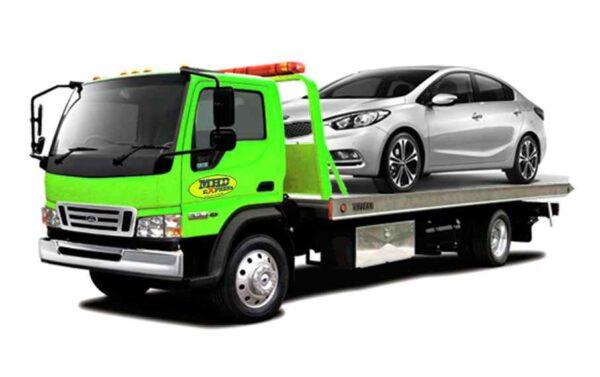 Kirim mobil via towing